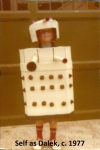 Self as Dalek c 1977